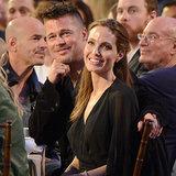 Brad Pitt und Angelina Jolie, beste Fotos der Award-Saison