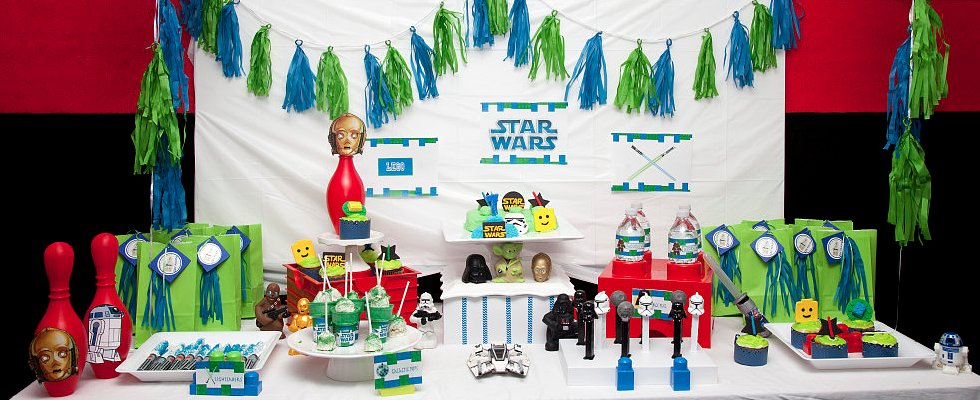 Everything Is Awesome With This Lego Star Wars Bowling Party