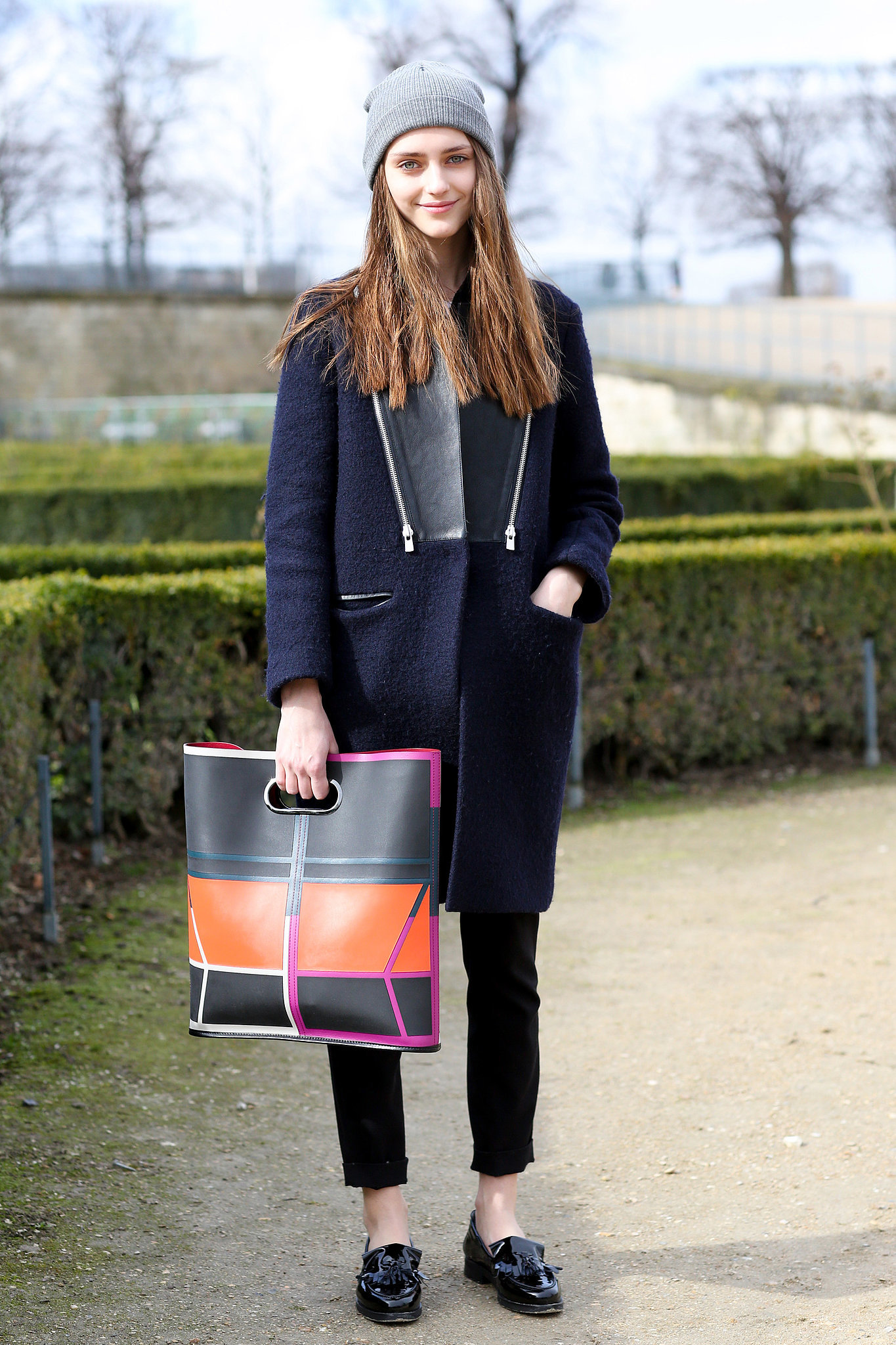 Pfw Model Street Style Day Four It 39 S A Model Takeover At