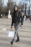 PFW Model Street Style Day Seven