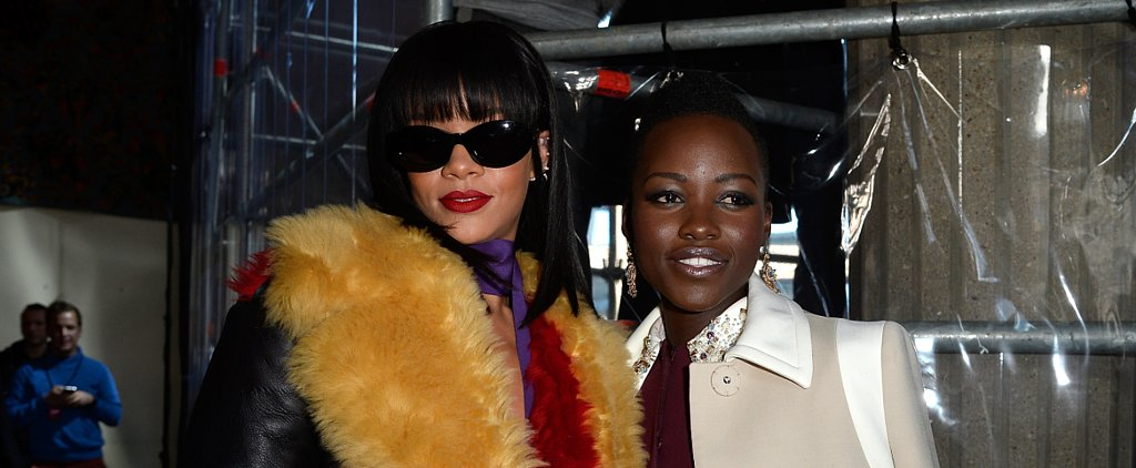 Lupita Won Paris Fashion Week, Too — Plus More Front-Row Beauty