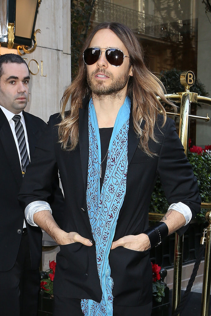 Jared Leto at Miu Miu