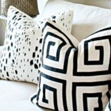 Painted Pillow DIY