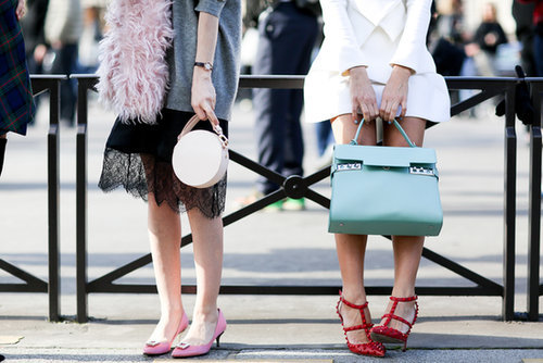 This shot pretty much sums up how amazing the accessory game is in Paris.