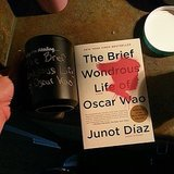 Leb50 shared a pic of The Brief Wondrous Life of Oscar Wao by Junot Díaz.