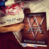 "Alexlondon23 said, ""Spirit Bound and Belgian chocolate, I don't want this series to end!"""