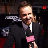 Aaron Paul Need For Speed Interview | Video