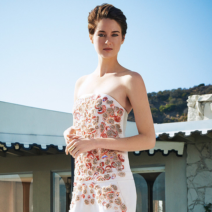 Shailene Woodley Broke One of Her Style Rules For The Hollywood Reporter