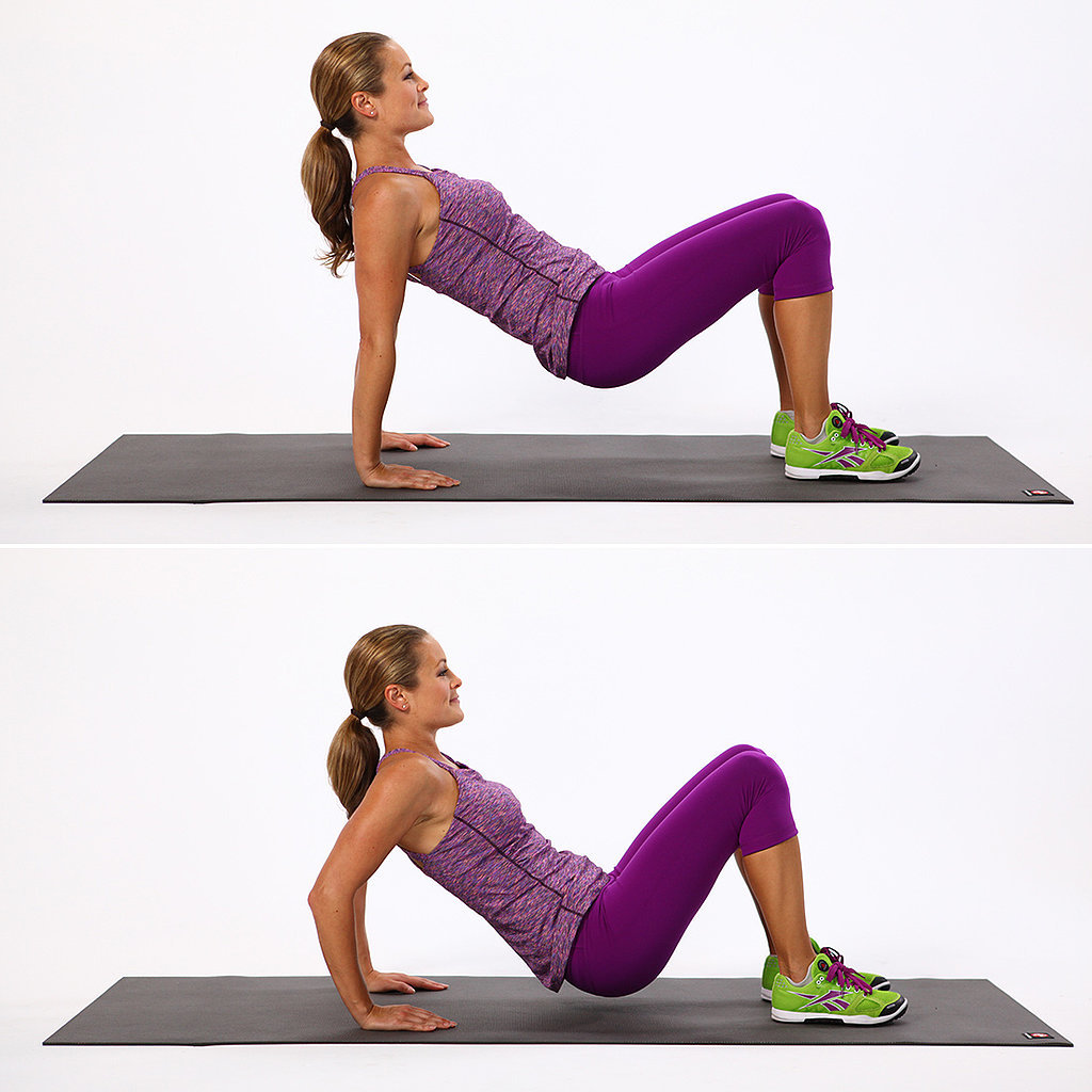 Tricep toning exercises popsugar fitness for Floor workout