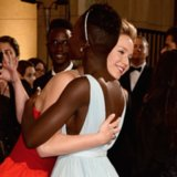 Jennifer Lawrence and Lupita Nyong'o's Award Season Photos