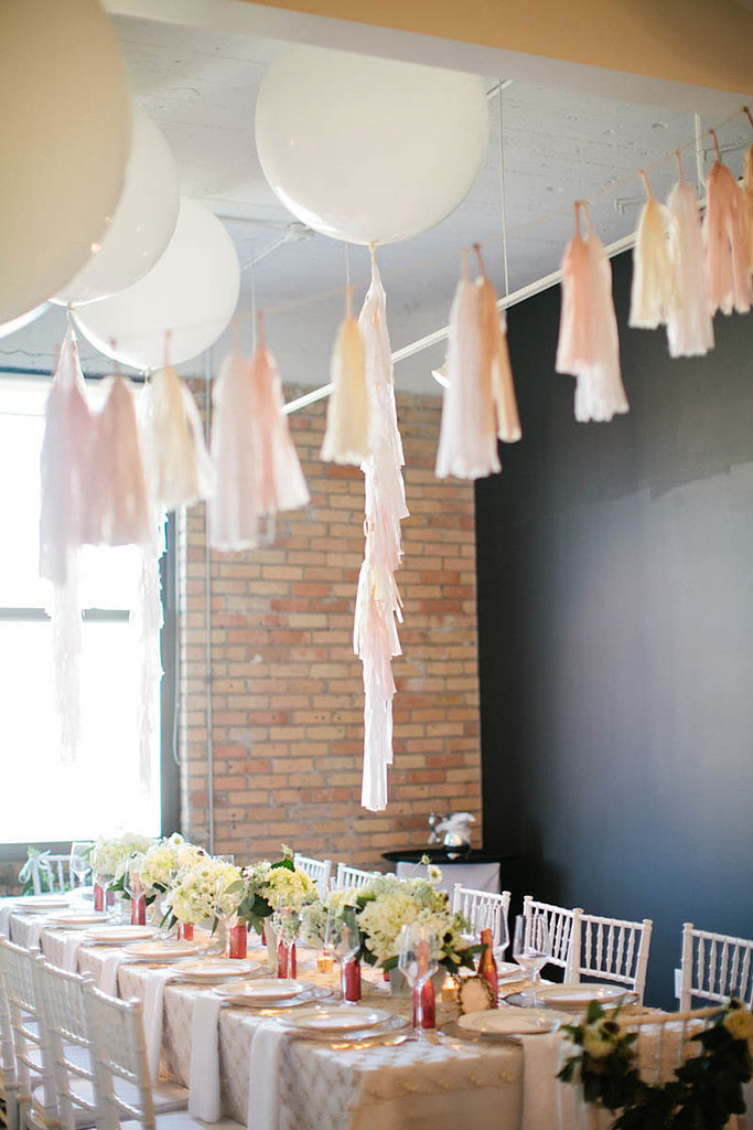 Attach Tassels and Float Them Throughout the Venue