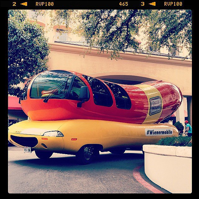 Weinermobile Sightings Aplenty