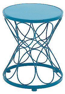 """15"""" Plant Stand, Blue"""