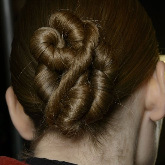 Pictures of Wedding Hair and Makeup From Fashion Week