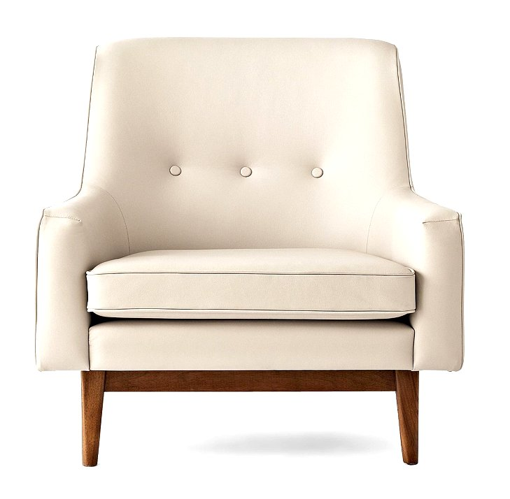 Happy Chic by Jonathan Adler Bleecker Leather Chair