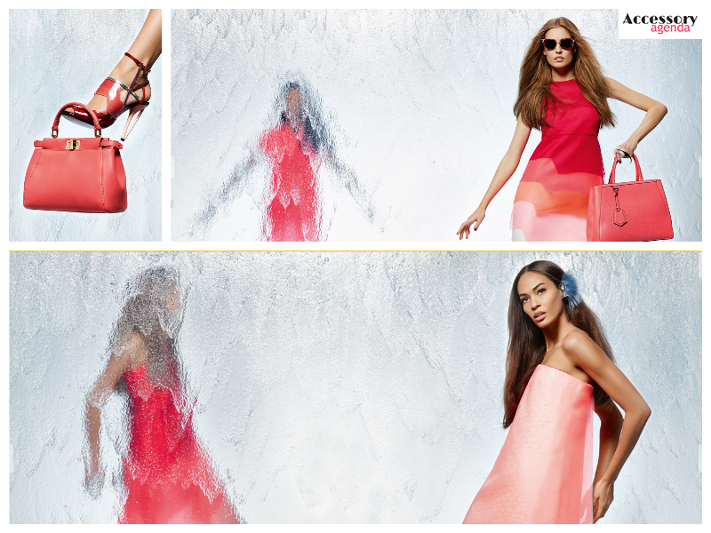 Karl Lagerfeld Shot Fendi Waterfall Campaign