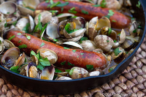 Let's Eat | Clams and Chorizo