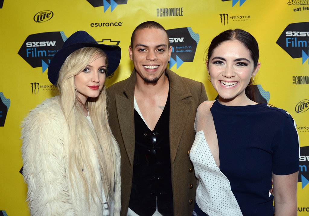 Ashlee Simpson supported her fiancé, Evan Ross, at his Q&A for The Wilderness of James on Sunday with his costar Isabelle Fuhrman.