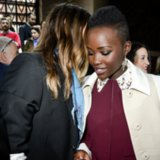 Lupita Nyong'o Taking Selfies With Jared Leto