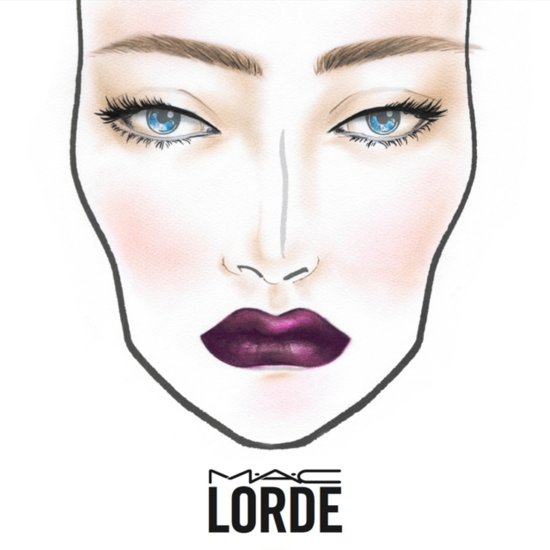 Lorde Lipstick Collaboration With Mac Cosmetics