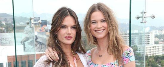 Alessandra und Behati machen Laune auf die anstehenden Bikini-Saison