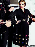 Lena Dunham in Céline