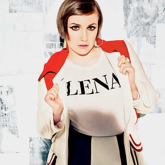 Lena Dunham on the cover of Glamour