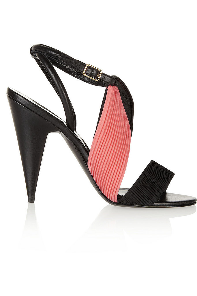 Pierre Hardy Pink and Black Sandals ($169, originally $675)