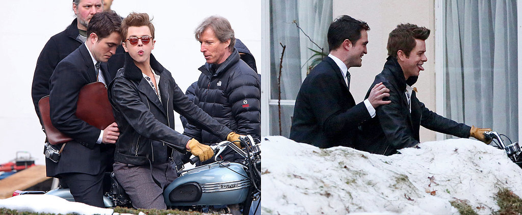The Many Stages of Robert Pattinson Riding a Motorcycle