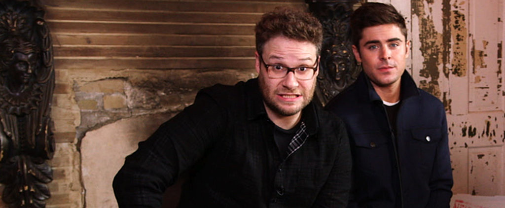Who Shoved Cheesburgers in Mail Slots — Zac Efron or Seth Rogen?