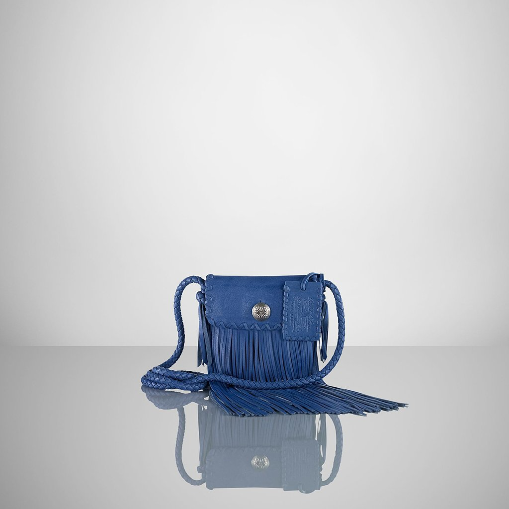 Ralph Lauren Flat Fringed Cross-Body ($395)