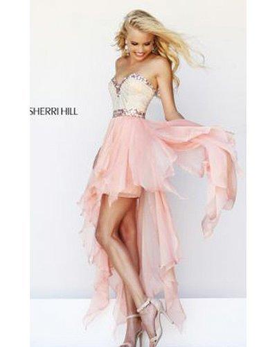 2014 Peach Prom Dress Sherri Hill 1920