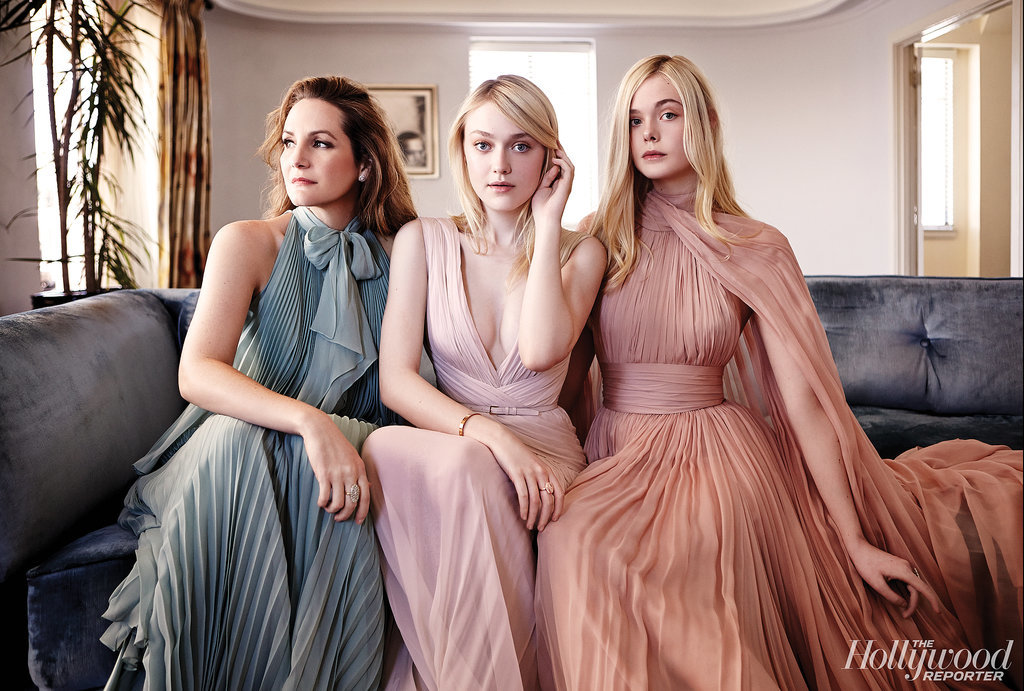 Samantha McMillen, Dakota Fanning, and Elle Fanning