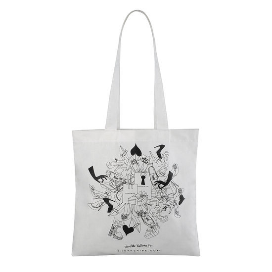 Tote bag Shoescribe