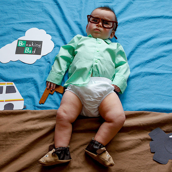 Baby Dressed as Breaking Bad Character
