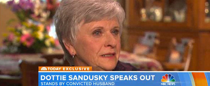 Jerry Sandusky's Wife Might Be the Only Person Who Thinks He's Innocent