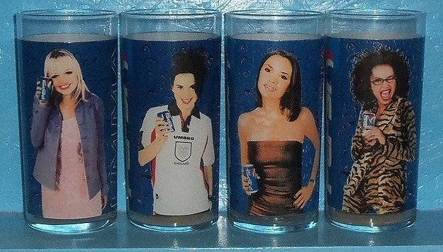 Oh, and You Could Drink Your Pepsi in Themed Cups