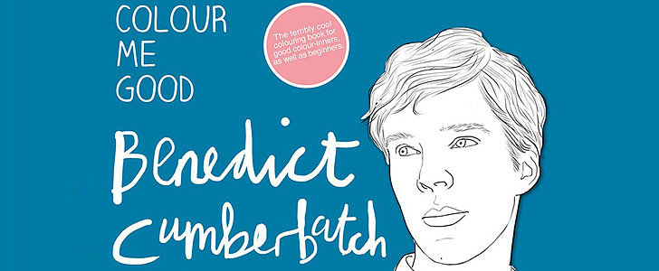 Behold, the Benedict Cumberbatch Coloring Book