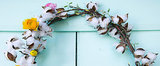A Pretty Spring Wreath That's Actually Easy to Make!