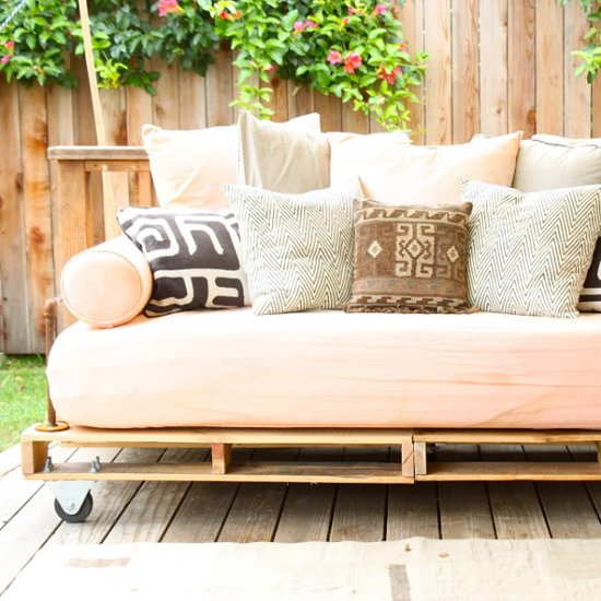 A DIY Daybed For a Steal!