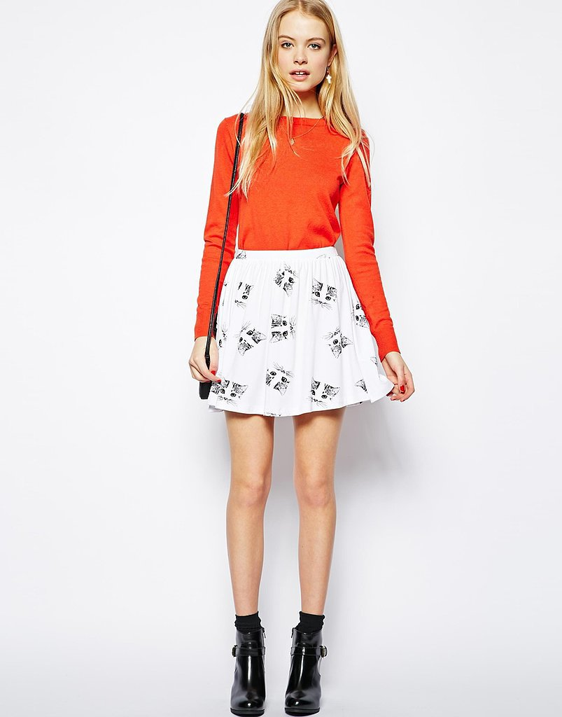 The cat skater skirt ($30) to end all skater skirts.