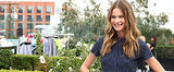 Behati Prinsloo Makes the Case For the Crop Top Today on POPSUGAR Live!