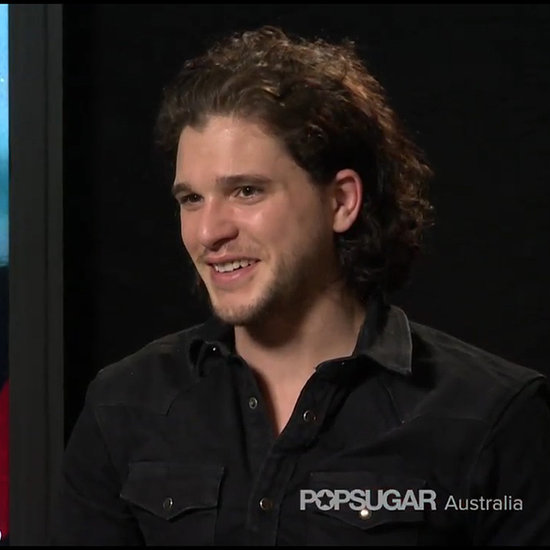 POPSUGAR Australia Interviews; Kit Harington; Margot Robbie