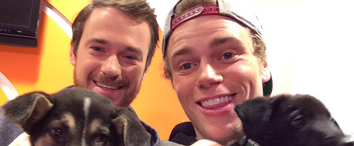 Your Olympic Crush Brought His Puppies Back Home