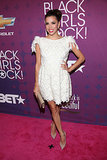Eva oozed girl power in a Dana Budeanu embroidered dress at the Black Girls Rock! event in 2012.