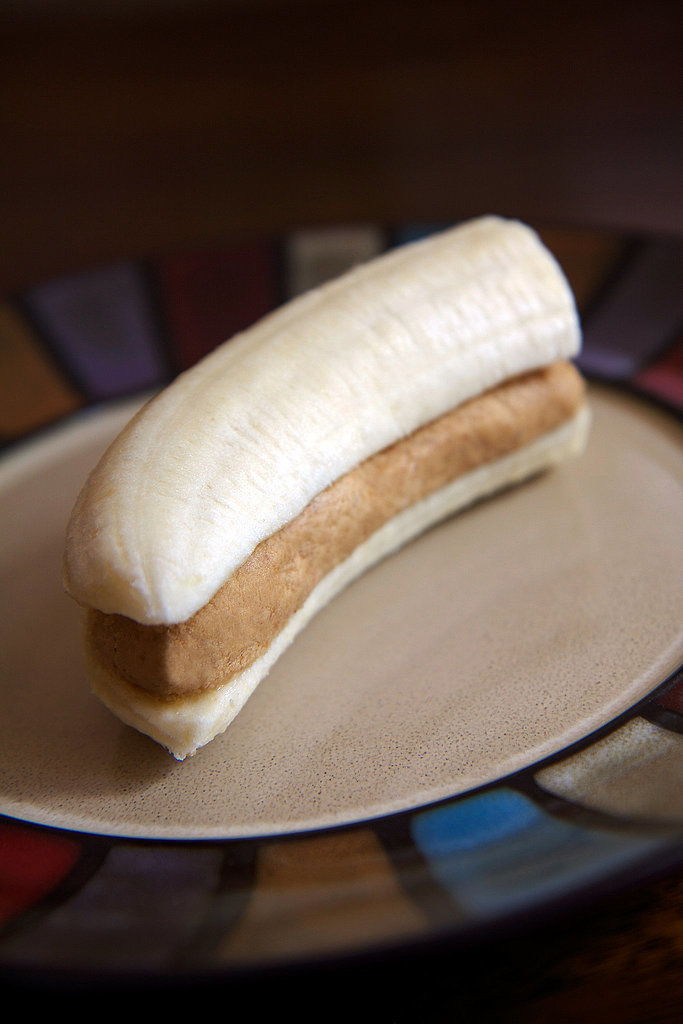 High-Protein Banana and PB Snack