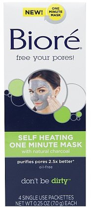 Bioré Self-Heating One-Minute Mask, $7