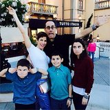 Jerry Seinfeld's Family Holiday in Italy