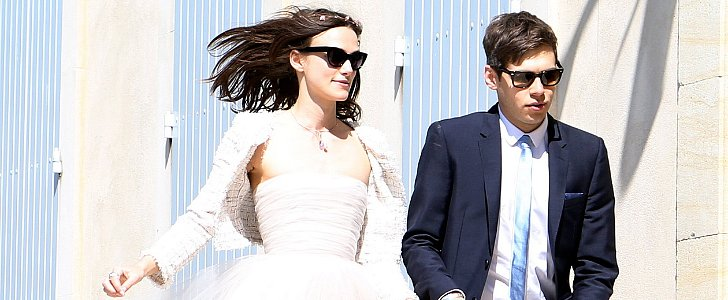 How Keira Knightley Ruined Her Wedding Dress