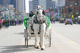 Detroit, MI, got festive with a St. Patrick's Day parade.